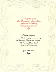 Wedding Free Suggested Wording by Theme Geographics