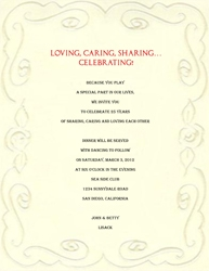 anniversary party invitations templates free Intoanysearchco