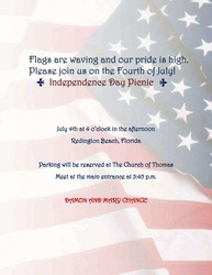 4th Of July Party Invitations Wording 3