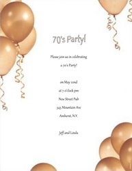 party free suggested wording by theme geographics