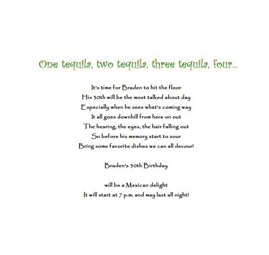 Birthday | Free Suggested Wording by Theme | Geographics