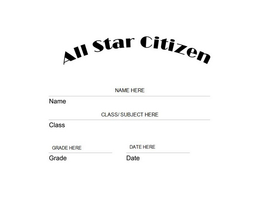 all star citizen award clip art wording