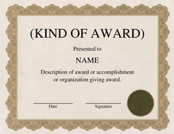 award certificates diploma word templates clip art wording geographics