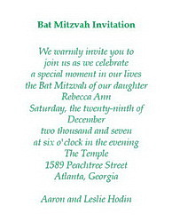 Bat mitzvah free suggested wording by theme geographics bat mitzvah invitations wording stopboris Image collections