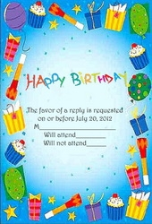 Birthday Free Suggested Wording By Theme Geographics - Birthday invitation in word