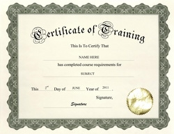 personal training certificate template - geographics certificates free word templates clip art