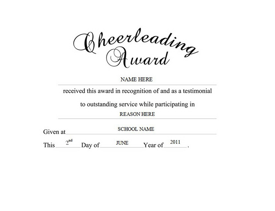 cheerleading award clip art wording