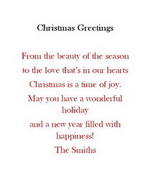 Christmas free suggested wording by holiday geographics christmas greeting cards wording m4hsunfo