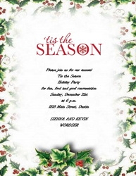 christmas party invitation wording 4