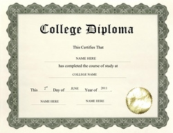 Good College Diploma Clip Art U0026 Wording For Free College Diploma Template
