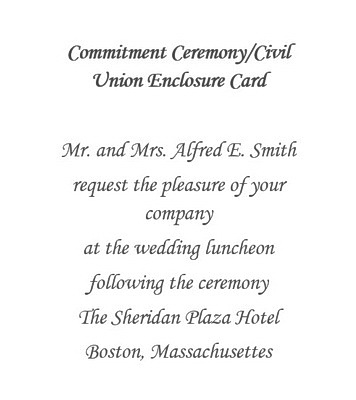 Commitment Ceremony Free Suggested Wording By Theme Geographics
