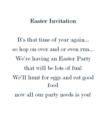 Free wording by holiday geographics printable stationery 2 easter invitations wording stopboris Image collections