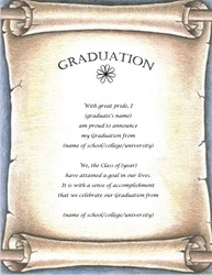 Graduation free suggested wording by theme geographics graduation announcements wording 12 pronofoot35fo Images
