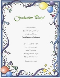 Graduation Free Suggested Wording By Theme Geographics - Free templates for graduation party invites