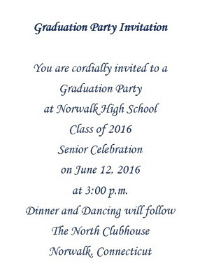 graduation party invitations wording free geographics word templates