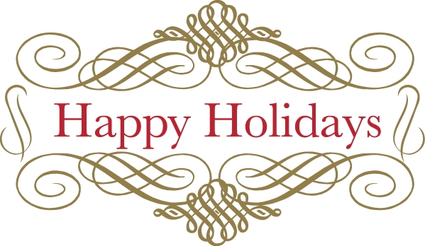 Happy Holidays Clip Art Free Geographics Clipart for Holiday