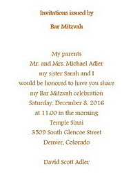 Bar mitzvah free suggested wording by theme geographics bar mitzvah invitations issued by wording stopboris Images