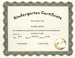Award certificates diploma word templates clip art wording kindergarten certificate clip art wording yelopaper Image collections