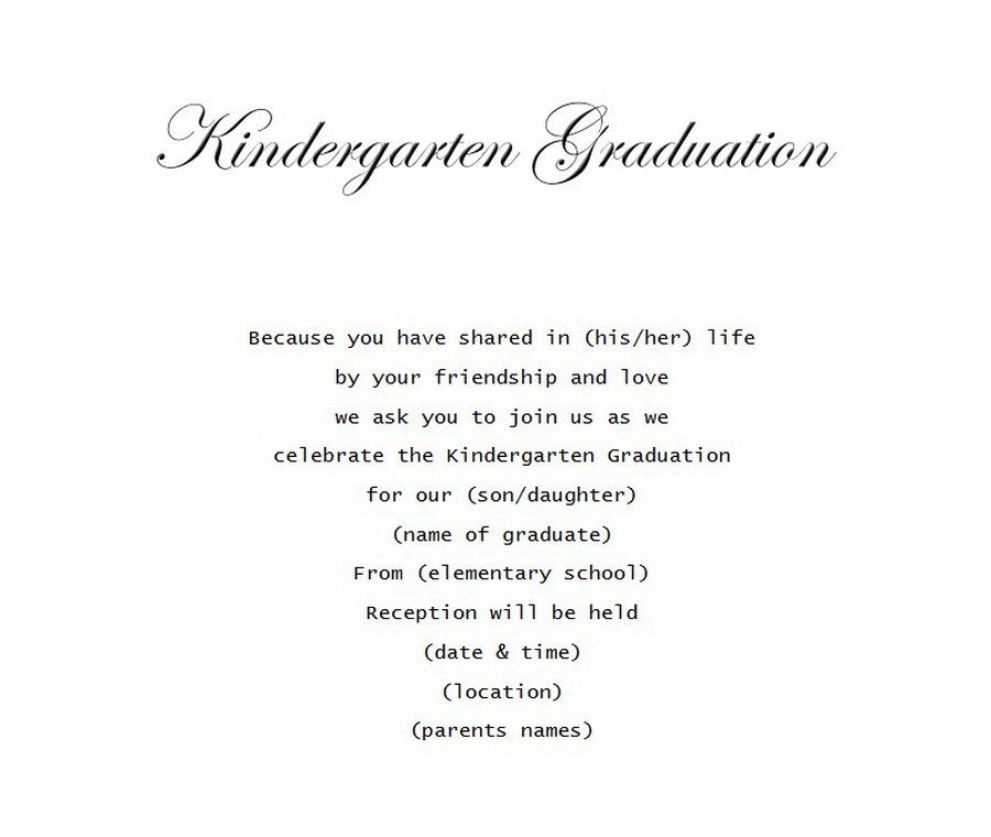 Graduation Free Suggested Wording By Theme Geographics