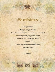 loss of a mother sympathy cards wording 2