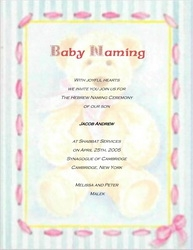 Baby free suggested wording by theme geographics 2 naming ceremony invitations wording 6 stopboris Images