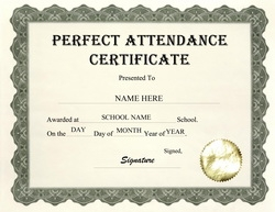 Geographics certificates free word templates clip art wording 2 perfect attendance certificate clip art wording yelopaper Images