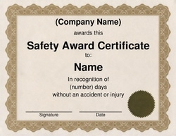 Award certificates diploma word templates clip art wording safety award certificate clip art wording flashek Gallery