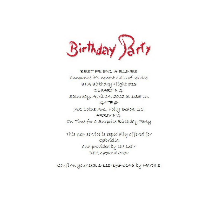 Surprise birthday party invitations 4 wording free word templates surprise birthday party invitations wording 4 filmwisefo