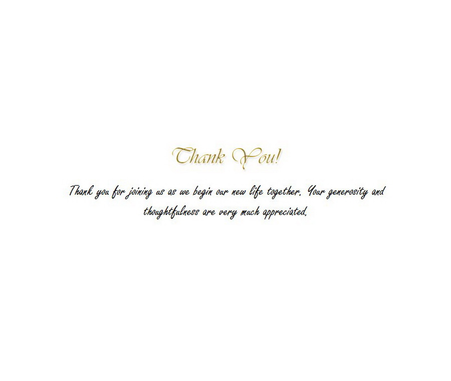 Thank You Cards 1 Wording | Free Geographics Word Templates