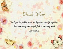 thank you card free template