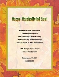 Fall thanksgiving free suggested wording by holiday geographics thanksgiving dinner invitation wording 1 maxwellsz