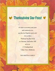 Fall Thanksgiving | Free Suggested Wording by Holiday | Geographics