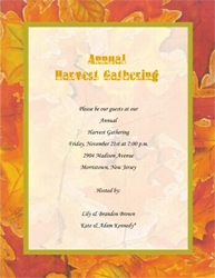 Fall thanksgiving free suggested wording by holiday geographics thanksgiving dinner invitation wording 3 spiritdancerdesigns Gallery