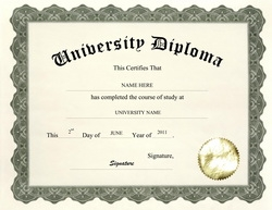 Diploma free templates clip art wording geographics for Phd degree certificate template