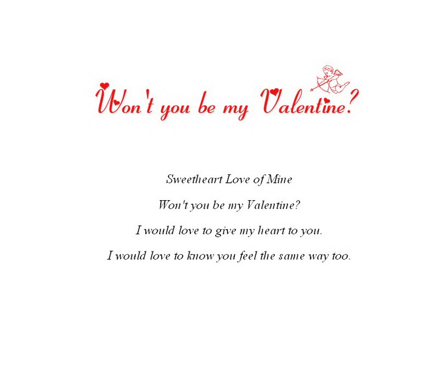Valentines Day Party Cards 4 Wording | Free Geographics Word Templates