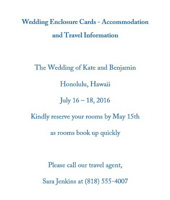 Wedding Enclosure Cards Wording Free Geographics Word Templates