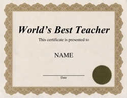 Awards certificates free templates clip art wording worlds best teacher certificate clip art wording yadclub Gallery