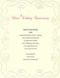 Anniversary Invitations Templates Free,Invitations.Invitation Card