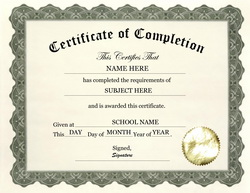 Free downloadable certificates of completion dawaydabrowa free certificate template free downloadable certificates of completion yadclub Choice Image