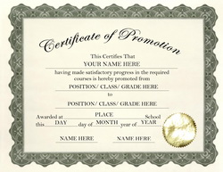 promotion certificate templates koni polycode co