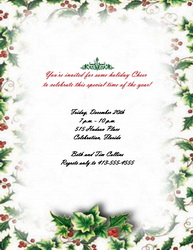Christmas Invitations - Free Templates, Clip Art and ...