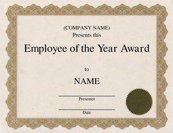 Employee Years of Service Certificate http://www.geographics.com/award-templates-without-clip-art/w72/?page=2