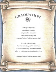 Graduation stationery templates clip art wording for Free graduation invitation templates for word