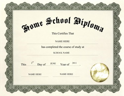 Free High School Diploma Templates| Geographics