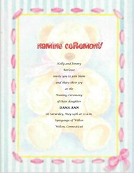 Free Baby Naming Ceremony Templates, Clip Art & Wording ...