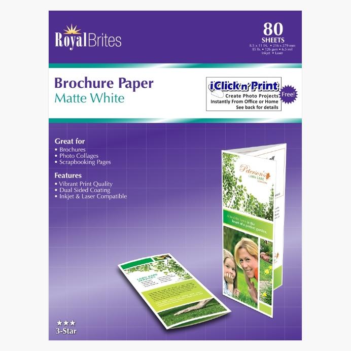 Brochure Paper Geographics