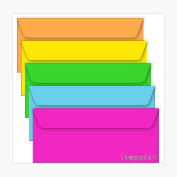 Geographics Envelopes